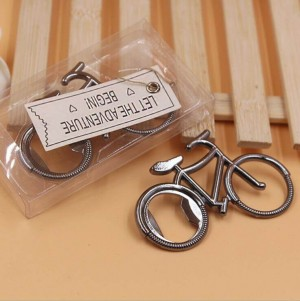 "Bicycle Bottle Opener ""Let the Adventure Begin"""
