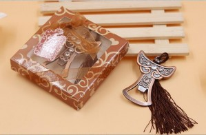 Copper Angel Bottle Opener Wedding Favor
