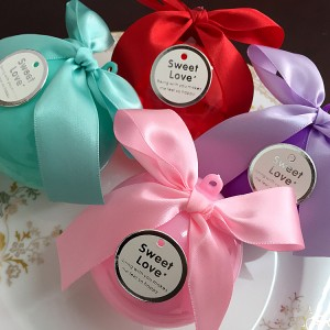 European-style round ball design wedding candy box