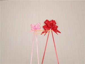 pull flowers wedding car decoration decorative flower favor