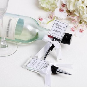 """Capture the Moment"" Glass Photo Holder Bottle Stopper"