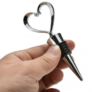 Heart Wine Bottle Stopper Wedding Favors Wedding Party Favors Ideas