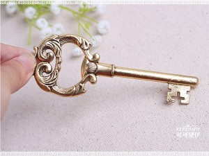 Key to My Heart Antique High Quality Retro Key Bottle Opener Favor