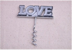 Love Wine Corkscrew Wholesale Favors