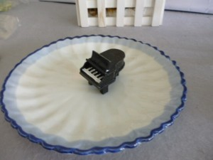 Piano Place Card Holder Unique Favors