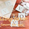 Wedding coaster favor love glass heart-shaped