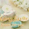 Blossom Ceramic Salt Pepper Shakers Favor