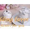 Ceramic Mini-Piggy Bank Wedding Favors