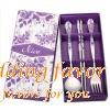 Chinese-style wedding chopsticks spoon fork favors