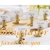 Cowboy Boot Place Card Holder Wedding Gift