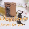 Cowboy boots Alloy Beer Bottle Opener Wedding Favor
