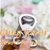 European retro wedding favors fleur de lis design beer bottle opener