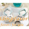 Flip Flop Bottle Opener Wedding Favor