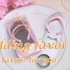 Pink Flip Flop Bottle Opener Wedding Favor