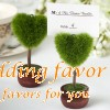 Topiary Place Card Holder (Heart)