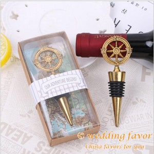 """Our Adventure Begins"" Compass Bottle Stopper"