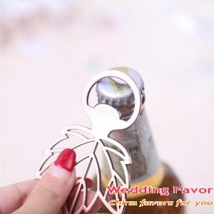 Copper Leaf Bottle Opener Gifts for Wedding