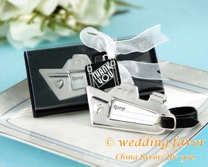 Destination Love Cruise Ship Luggage Tag Wedding Favor