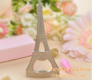 Eiffel Tower Beer Bottle Opener Wedding Favor