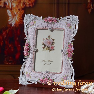 6-inch European-style garden resin photo frame wedding favor