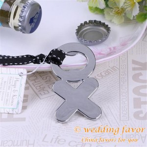 Hugs & Kisses Bottle Opener Wedding Favors