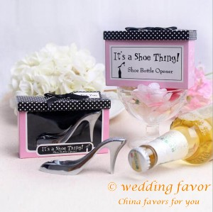 It's a Shoe Thing Shoe-Shaped Bottle Opener Wedding Favor