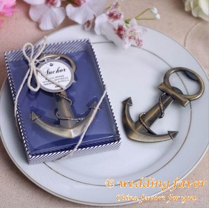 Kate Aspen Anchor Nautical-Themed Bottle Opener Wedding Favor