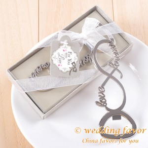 Love Forever Bottle Opener Wedding Favors