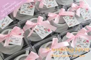 Mini Teacup Candle Favors
