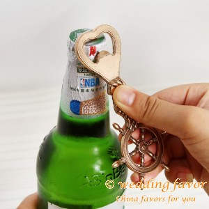"Nautical Bottle Opener  ""Steer Your Future Life"" Favor"