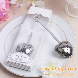Personalized Heart Shaped Tea Infuser Tea Time