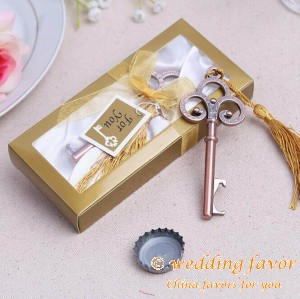 Vintage Skeleton Key Bottle Opener Wedding Favor