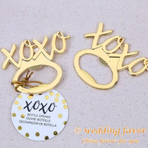 XOXO Bottle Opener Wedding Gifts for Guests