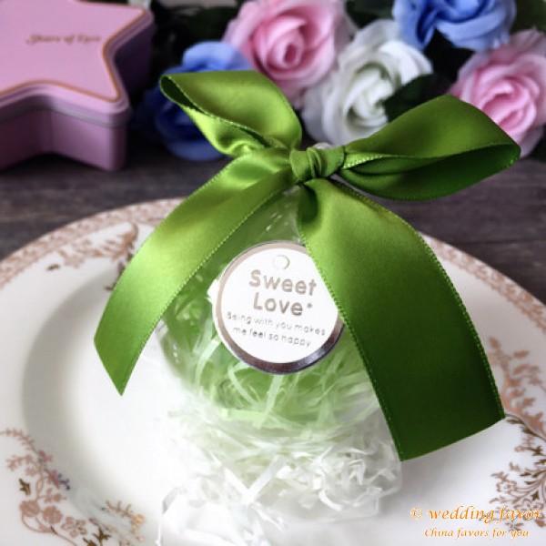 European-style round ball design wedding candy box