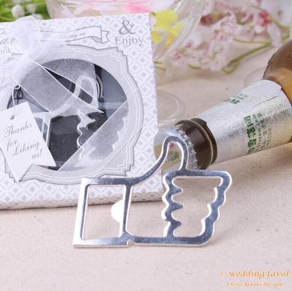Facebook Like Design Thumbs Up Beer Bottle Opener