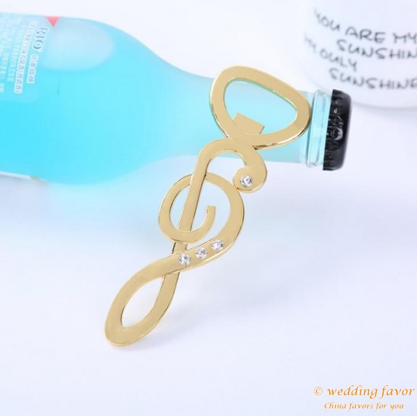 Music Note Bottle Opener