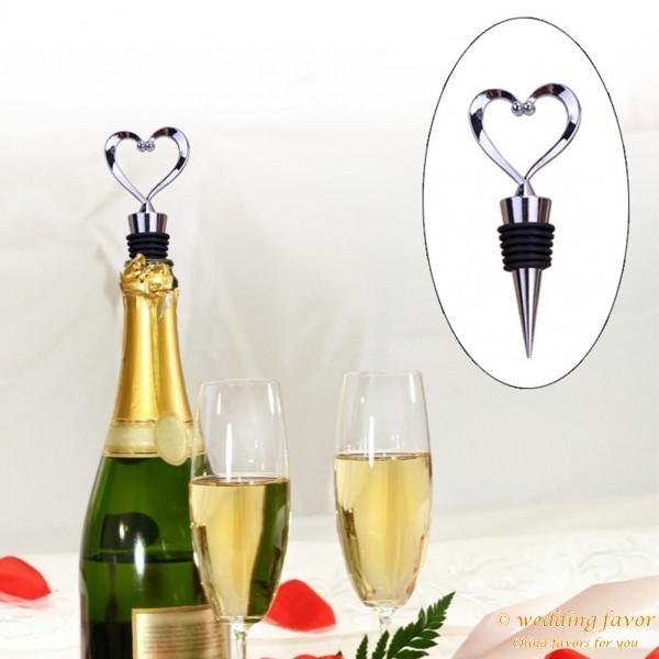 Heart Wine Bottle Stopper Wedding Favors Wedding Party Favors Ideas