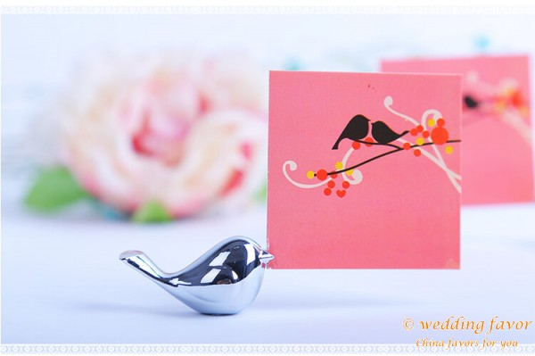 Love Bird Place Card Holder Wedding Favor