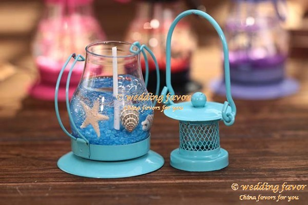 Marine lantern candle wedding birthday party favor
