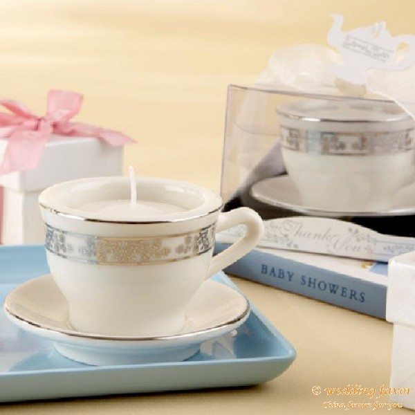Mini Teacup Candle Favors