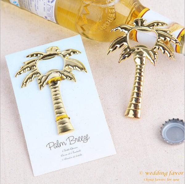 Palm Breeze Bottle Opener Wedding Favor