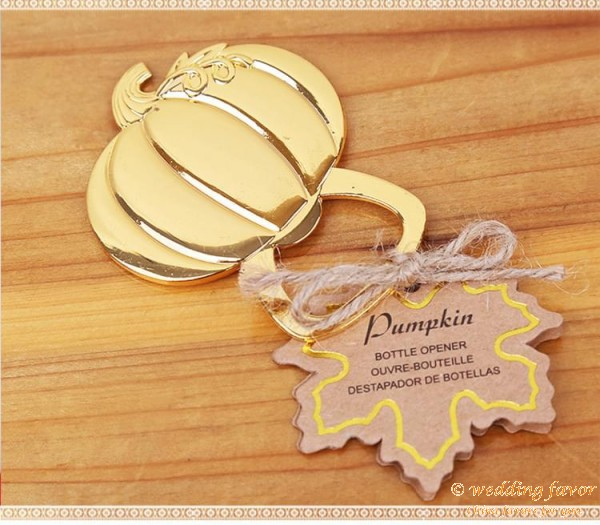 Pumpkin Bottle Opener Favour Gifts Wedding Favors