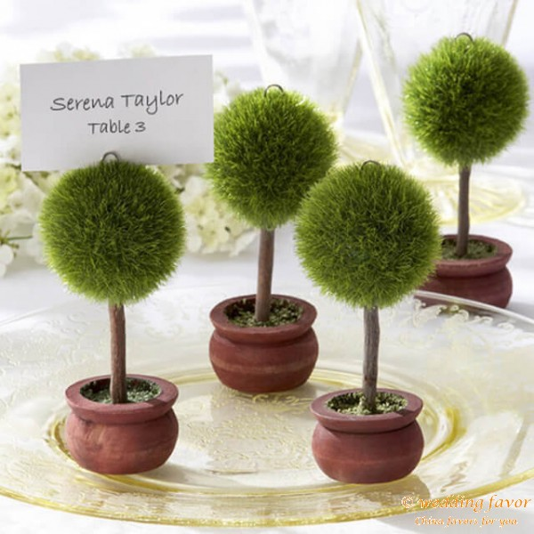 Topiary Place Card Holder (Round)