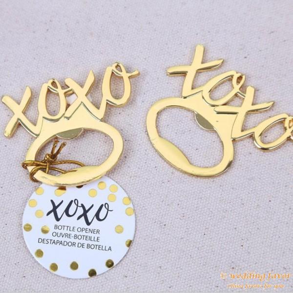 XOXO Bottle Opener Wedding Gifts for Guests